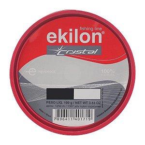 Linha Ekilon Crystal 100g 1250m - 0.30mm