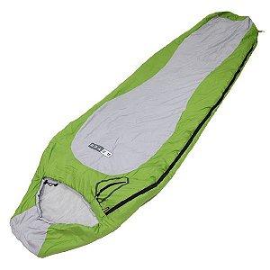 Saco de Dormir Azteq Raptor 2ºC a 6ºC - Verde/Cinza