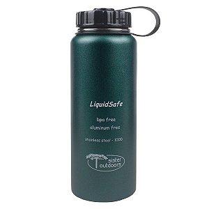 Garrafa Inox Bpa Free LiquidSafe 1000ml - Verde