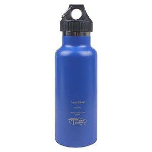 Garrafa Térmica Inox Bpa Free LiquidSafe 500ml - Azul