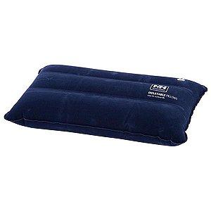 Travesseiro Inflável Naturehike Camping - Azul Escuro