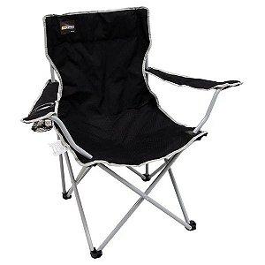 Cadeira Dobrável de Camping NTK Alvorada - Preta