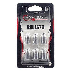 Chumbo Bullet Head Camalesma 18g / 20g - 6pçs