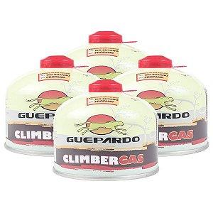 Caixa Cartucho Climber Gás 230g Guepardo - 4 Unidades