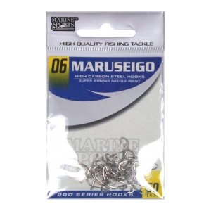 Anzol MS Maruseigo Nickel #06 - 50pçs