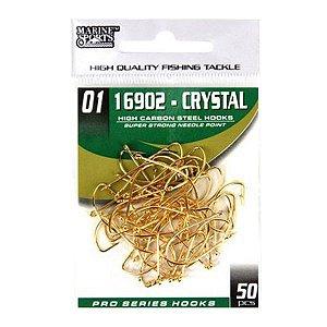 Anzol MS Crystal 16902 #01 - 50pçs