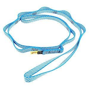 Fita de Segurança Conquista Daisy Chain Sport 22Kn 90cm - Azul