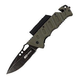 Canivete Tático NTK Borlov com Perdeneira