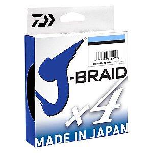 Linha Daiwa J-Braid X4 Azul 270m - 30lb 0.25mm