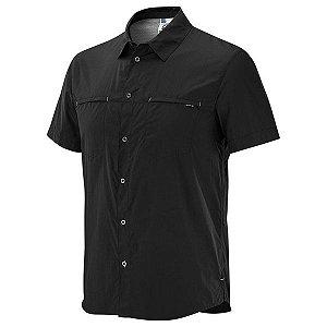 Camisa Salomon Stretch MC Masc Preto