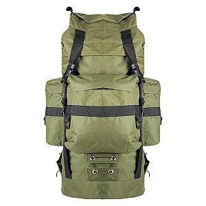 Mochila Militar PQD Nylon 48L - Verde