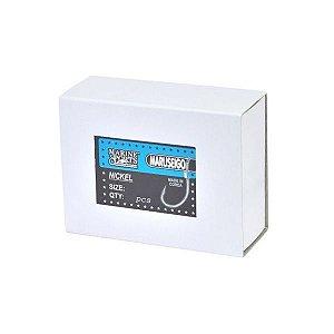 Caixa Anzol MS Maruseigo Nickel 30 - 50pçs
