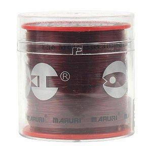 Linha Maruri Rubylon 0.23mm 600m - Vermelha
