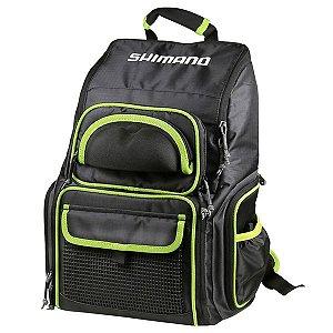 Mochila de Pesca Shimano Luggage XL Tacke Backpack com 4 Estojos