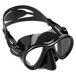 Máscara de Mergulho Cressi Silicone Metis - Preto/Black