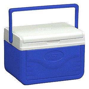 Caixa Térmica Coleman 05QT 4.7L (6 Latas) - Azul
