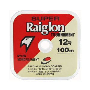 Linha Super Raiglon Branca 100m - 0.81mm