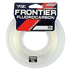 Linha Fluorocarbon YGK Frontier 50m - 40lb 0.61mm