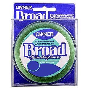 Linha Owner Broad 150m 0.22mm - Verde
