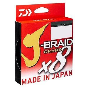 Linha Daiwa J-Braid Grand X8 Verde 270m - 15lb 0.19mm