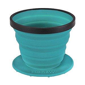 Coador de Café Sea to Summit X-Brew 90ml Azul
