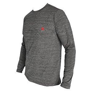 Camiseta Fishing Co. ML Masculina Mescla