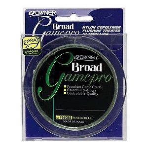 Linha Owner Broad Game Pro 300m Verde - 0.30mm