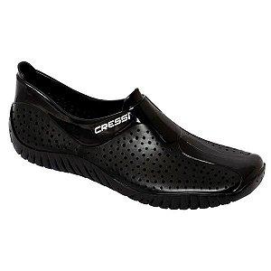 Sapatilha Multiesportiva Cressi Alfa Water Shoes Preto
