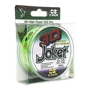 Linha Maruri Joker 3D 300m 0.18mm - Verde