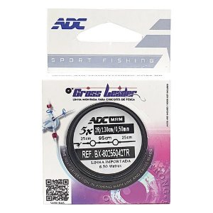 Linha Cross Leader ADC 0.50mm 5x130cm Rotor 4.0mm BX80255042TR