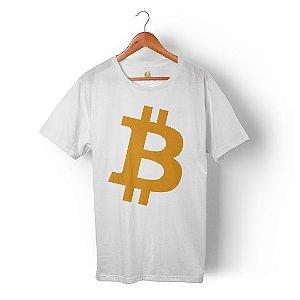 Camiseta Bitcoin Branca