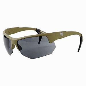Óculos Tático Marcos Do Val Spartan Caqui Lente Preta