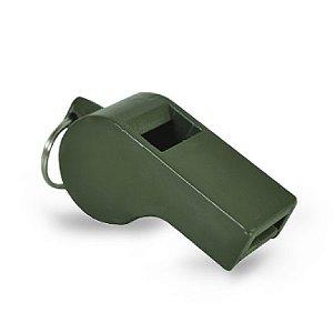 Apito de Plástico 55mm Verde