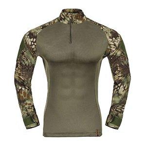 Combat Shirt Raptor Camuflado Kryptek Mandrake Invictus