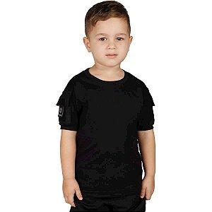 Camiseta Infantil Ranger Kids Preta Bélica