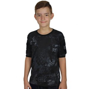 Camiseta Infantil Ranger Kids Camuflada Typhon Bélica
