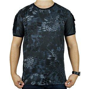 Camiseta Tática Masculina Ranger Camuflada Typhon Bélica