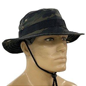 Chapéu Boonie Hat Army Bélica Multicam Black