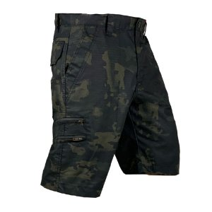 Bermuda Tática Hunter Bélica - Multicam Black