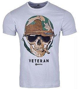 Camiseta Concept Caveira Cool Branca - Invictus