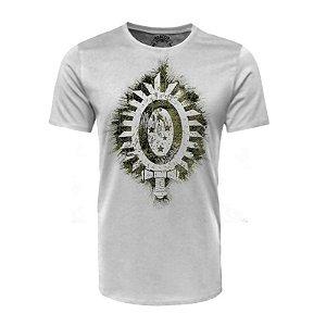 Camiseta Brasão EB Selva Branca - Black Flag