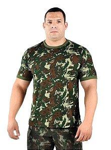 Camiseta Algodão Camuflada Exército Brasileiro (EB)