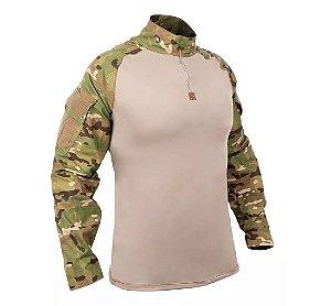 Combat Shirt Camuflada Multicam Bravo