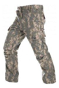 Calça 6 Bolsos Camuflada Army Combat Acu Bravo