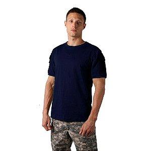 Camiseta Tática Masculina Ranger Azul Bélica