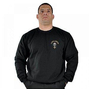 Blusa De Moletom Estampada Comandos
