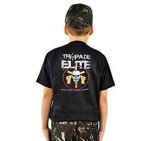 Camiseta Infantil Estampada Tropa De Elite