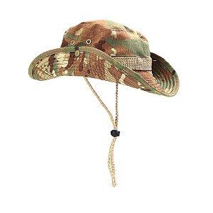 Chapéu Boonie Hat Camuflada Multicam Estonado - Atack
