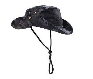 Chapéu Boonie Hat Camuflada Petróleo - Atack