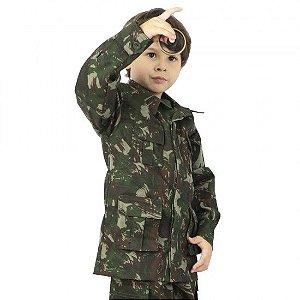 Gandola Infantil Camuflada Exército Brasileiro - Atack